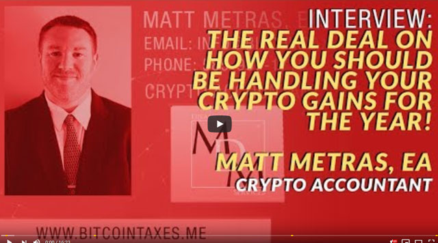 MDM Financial Services - Crypto Blood Youtube Interview